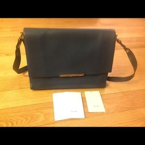 Celine Blade Flap Bag, Navy, new with tag